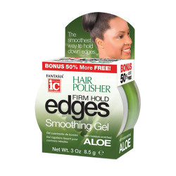 IC Fantasia Hair Polisher Firm Hold Edges Smoothing Gel 3 oz