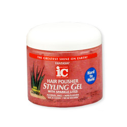 IC Fantasia Hair Polisher Styling Gel Hard to Hold 16 oz