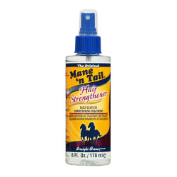 Mane 'n Tail Hair Strengthener Daily Leave-In Conditioning Treatment 6 oz