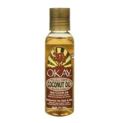 OKAY Coconut Oil for Hair & Skin 2 oz