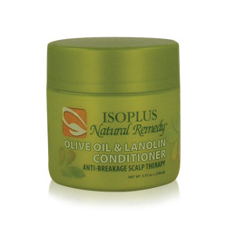 Isoplus Natural Remedy Olive Oil & Lanolin Conditioner 3.75 oz