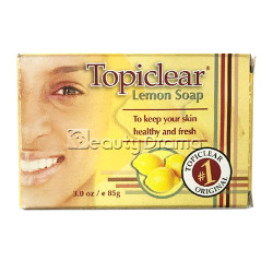Topiclear Lemon Soap for Healthy and Fresh Skin 3 oz
