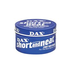 Dax Short and Neat Light Hair Dress, Light Hold, Medium Shine 3.5 oz