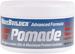 Wave Builder Super Wax Pomade Extra Holding Power 3.5 oz