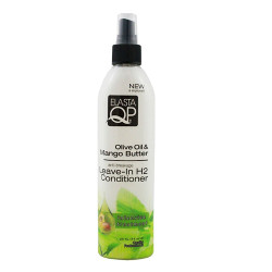 Elasta QP Olive Oil & Mango Butter Leave-In H2 Conditioner 8 oz