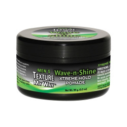 Africa's Best Men's Texture My Way Wave-n-Shine Xtreme Hold Pomade 3.5 oz
