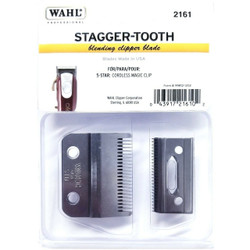 WAHL Stagger-Tooth CRUNCH Clipper Blade 2161