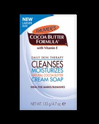 Palmer's Cocoa Butter Formula Cleanses Cream Soap 4.7 oz