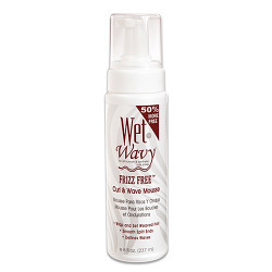 Wet-n-Wavy Frizz Free Curl & Wave Mousse 8 oz
