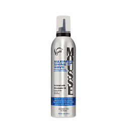 Vigorol Mousse Maximum Shine & Wave 12 oz