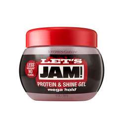 Let's Jam Protein & Shine Gel Mega Hold 9 oz