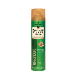 Thicker Fuller Hair Cell-U-Plex Weightless Volumizing Hairspray 8 oz