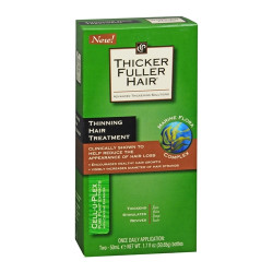 Thicker Fuller Hair Cell-U-Plex Thinning Hair Treatment 1.7 oz