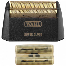 WAHL 5-Star Shaver Replacement Foil & Cutter Bar Assembly Finale BLACK