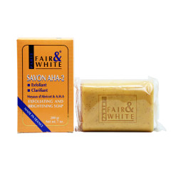Fair & White Savon AHA-2 Exfoliating and Brightening Soap 7 oz