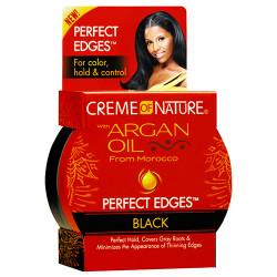 Creme of Nature Argan Oil Perfect Edges Black 2.25 oz