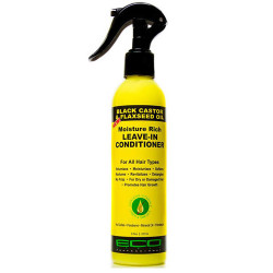 ECO Style Black Castor Oil & Flaxseed Oil Moisture Rich Leave-In Conditioner 8 oz