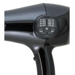 CROC Premium IC (Intelligent Circuit) Blow Dryer Black