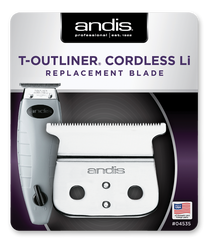 Andis Cordless T-Outliner® Li Trimmer Replacement T-Blade, #04535