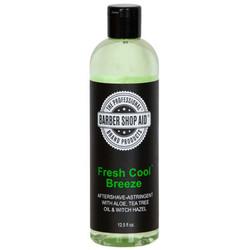 BARBER SHOP AID Fresh Cool Breeze Aftershave/Astringent 13oz