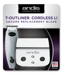 Andis Cordless T-Outliner® Li Replacement Square Blade, #04545