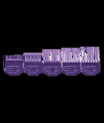 Andis Single Magnetic Comb Set — Small (5pcs) , #66345
