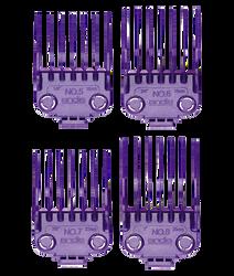 Andis Master® Dual Magnet Large 4-Comb Set, #01415