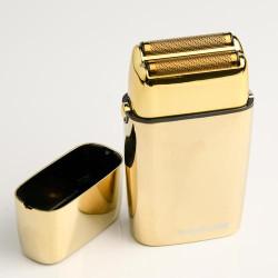 BaByliss Cordless Metal Double Foil Shaver Gold FOILFX02
