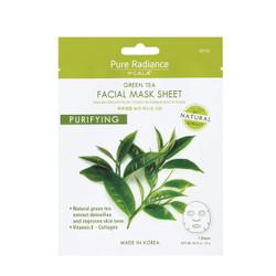 Pure radiance by CALA Purifying Green Tea Facial Sheet Mask