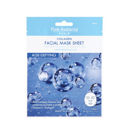 Pure radiance by CALA Age-Defying Collagen Facial sheet mask