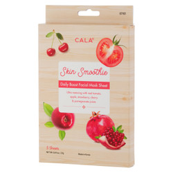 CALA Skin Smoothie Daily BOOST Facial Mask Sheet