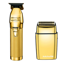 BaByliss PRO GoldFX Collection Combo - FX787G Trimmer & FXFS2G Shaver