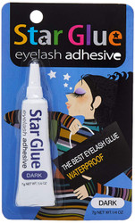 Star Glue Eyelash Adhesive 7g Net Wt .1/4oz (Dark)