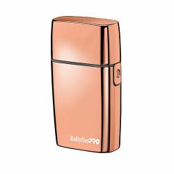 BaByliss Cordless Metal Double Foil FX02 Shaver Rose Gold FOIL FXFS2RG