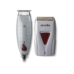 Andis Professional Finishing Combo T-Outliner Trimmer & Profoil Lithium Shaver 17195