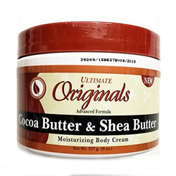 Ultimate Originals Therapy Cocoa Butter & Shea Butter Body Cream 8 oz