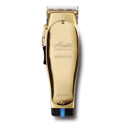 Andis Master Cordless Limited Edition Gold Clipper #12540