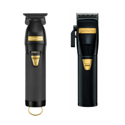 BaByliss Pro Black FX870BN Clipper & FX787BN Trimmer Combo