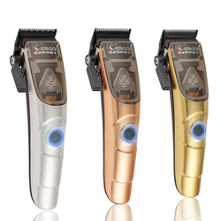 Gamma+ X-Ergo Professional Modular Clipper - Bronze, Silver, and Gold