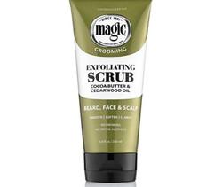 Magic Razorless Cream Shave Exfoliating Scrub Cocoa Butter & Cedarwood oil 6 oz