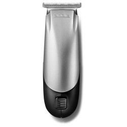 Andis Trim 'N Go Black & Silver Travel Size T-Blade Trimmer - 12 pc Kit (24870)