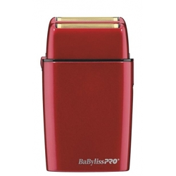 BaByliss Cordless Metal Double Foil Shaver RED FXFS2R