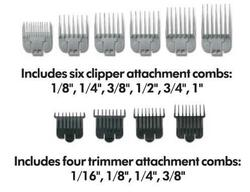 Andis Stylist Envy Adjustable Blade Clipper & T-Outliner Trimmer 66280