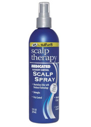Sulfur 8 Scalp Therapy Medicated Scalp Spray for Dandruff Control 12 oz