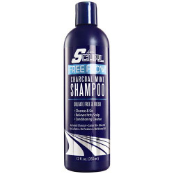 Luster's Scurl Free Flow Charcoal Mint Shampoo 12 oz