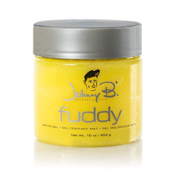 Johnny B. Fuddy Matte Gel for All day Hold 16 oz.