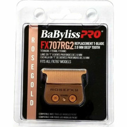 Babyliss Pro FX707RG2 Rose Gold Titanium Deep Tooth Trimmer Blade
