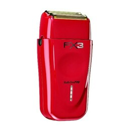 BaByliss Pro FX X3 High -Torque Shaver - Red/Black
