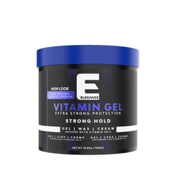 ELEGANCE Vitamin Gel Extra Strong Protection Strong Hold 34 oz.