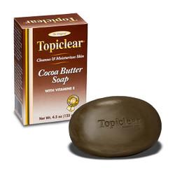 Topiclear Cocoa Butter Soap  with Vitamin E 4.5 oz.